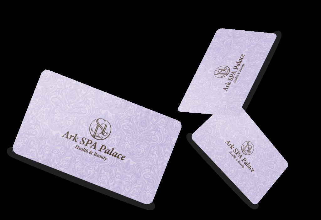 Club cards Ark-SPA Health and Beauty Center